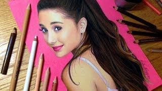 Drawing Ariana Grande