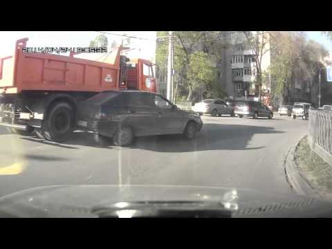 Авария с Камазом в Ростове на Дону