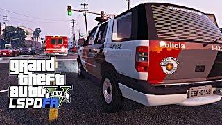 GTA de policia: Escolta deslocamento do Samu Ep.119 Assista Mais: https://goo.gl/HMTRAo Rotina Policia - Ronda do BOPE: https://goo.gl/dFsrB1 Rotina Policia ...