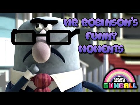 The Amazing World Of Gumball   Mr Robinson's Funny Moments
