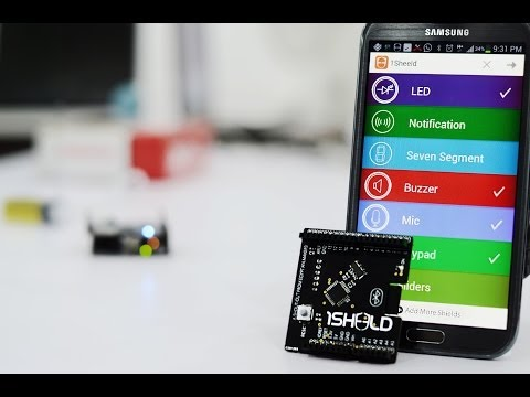 Video of 1Sheeld: The Arduino Shield