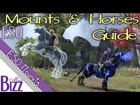 ESO Mounts Guide - Elder Scrolls Online Mount and Horse Guide - How to get a mount in ESO (видео)