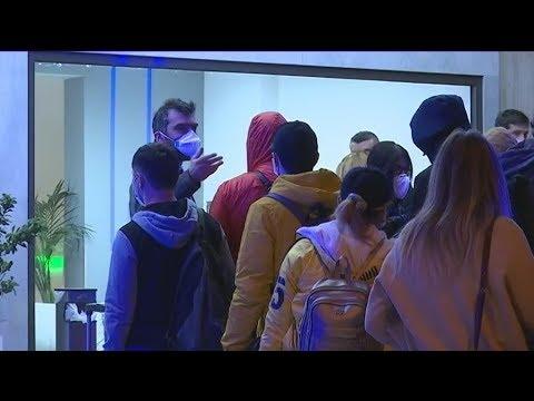 Ολοκληρώθηκε η μεταφορά  σε ξενοδοχεία των επιβατών που βρέθηκαν αρνητικοί στον Covid-19