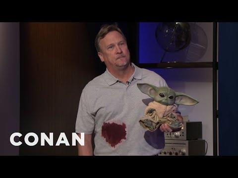 Conan's Prop Supervisor Tracks Down A Baby Yoda - CONAN on TBS