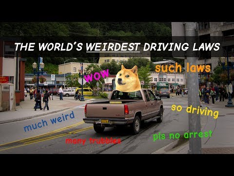 The Weirdest Driving Laws From Around The World