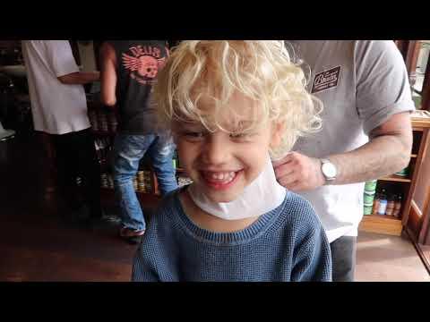 Hair cutting - WOLF'S FIRST HAIR CUT