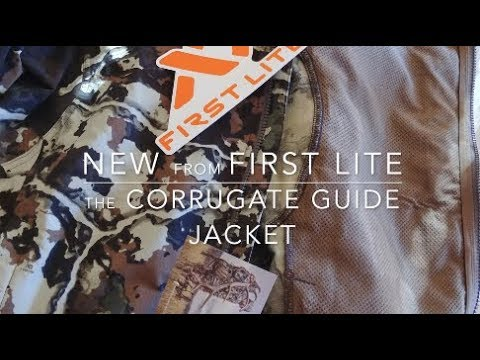 First Lite 2018 Corrugate Guide Jacket Gear Review