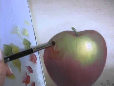 Learn to Paint: Acrylic Painting Techniques - Painting Transparent Waterdrops