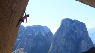 Diagonian Devil 8a+ / 5.13c (Meteora, Greece) Uncut Ascent by Mani the Monkey