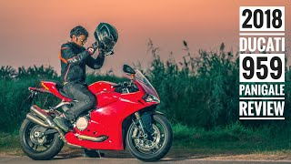 6. 2018 Ducati 959 Panigale Review (300 Km Road test) RWR
