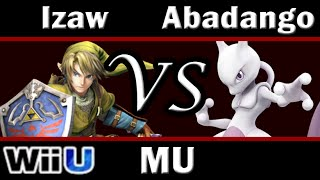 Smash 4 Izaw(Link) vs Abadango(Mewtwo) Match-up Analysis by Izaw