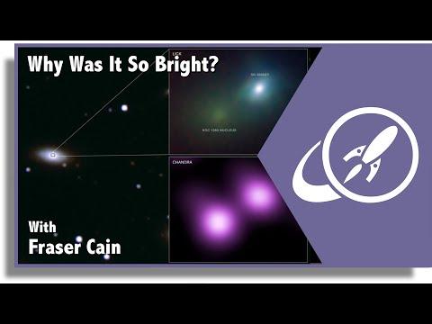 宇宙最亮爆發事件SN 2006gy的發生原因。by UniverseToday
