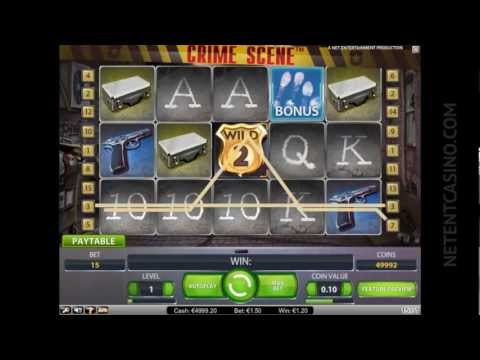 Crime Scene™ Video Slot by Netent Casino (Net Entertainment Software)