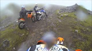 10. KTM 690 Enduro R 2013 Review - Off-Road / Trail riding - South Iceland