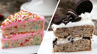 Three Ways To Bake An Ice Cream Cake •Tasty by Tasty