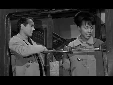 "Paris Blues: ""All these white girls look alike"" - Paul Newman, Diahann Carroll and Joanne Woodward."
