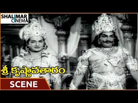 Video Sri Krishnavataram Movie || NTR & Satyanarayana Best Dialogue Scene || NTR, Devika || Shalimarcinema download in MP3, 3GP, MP4, WEBM, AVI, FLV January 2017