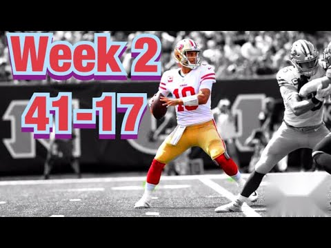 San Francisco 49ers WEEK 2 Highlights vs Bengals// 41-17 an Absolute Dominant Game