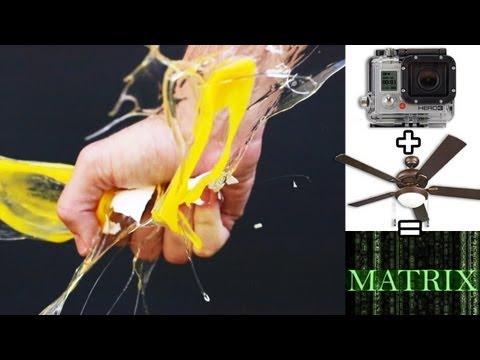 EPIC Matrix effect w/a ceiling fan & 1 GoPro