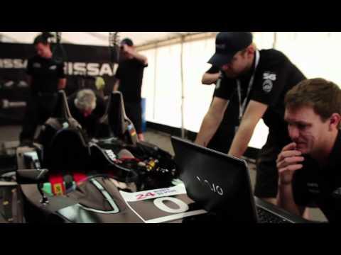 Nissan  Nissan DeltaWing Tests