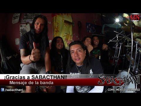 Entrevista con SABACTHANI [CDMX @ 2018.06.02]
