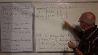 Algebra Intermedia - Lección 46 - B (problemas Verbales De Inversiones)