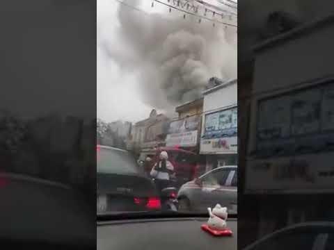 Cháy lớn tại Lạch Tray - Hải Phòng