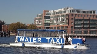 Baltimore (MD) United States  City new picture : Baltimore Water Taxi Service -- REAL United States Episode 196