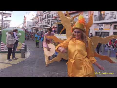 Marcha de Tribus. Martes de Carnaval en Isla Cristina