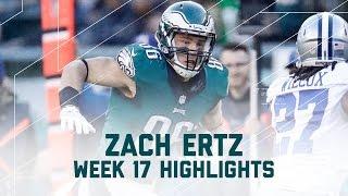 Zach Ertz Goes Off for 139 Yards & 2 TDs | NFL Week 17 Player Highlights