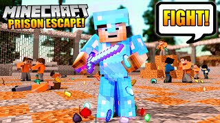 "Minecraft PRISON ESCAPE #3 - So I started a HUGE FIGHT! Can I survive!?► Play Prison NOW: mc.AliAcraft.net (Server IP)► Get Prison VIP here: http://store.aliacraft.net/► ALL Prison Escape videos (Playlist) - https://www.youtube.com/playlist?list=PLZ53q68oHkKYITPrBn61W75h1NPPoCaobEnjoyed the video? Hit 👍 ""LIKE"" 👍 - Thank you!Hey there - I'm Ali-A! Thanks for watching one of my videos! :) This is my channel where I play ANY games I'm having fun playing to share with YOU all. Make sure you're checking out more of my videos and ""SUBSCRIBE"" to be notified every time I upload. Thanks - Enjoy the video! :D► NEW Ali-A Merch!• Store - http://AliAShop.com► Follow me!• Facebook - http://facebook.com/AliAarmy• Twitter - http://www.twitter.com/OMGitsAliA• #AliAapp (iOS) - http://tinyurl.com/9u5h3d8 • #AliAapp (Android) - http://tinyurl.com/bz8kjbs• Host your own Minecraft servers here:http://gizmoservers.com (""AliA"" 20% off)• Cheapest games - https://www.g2a.com/r/AliA• The headset I use - http://bit.ly/1dXHELh• How I record ALL my gameplay:http://e.lga.to/aSubscribe for more videos!- MoreAli-A---Video uploaded & owned by Ali-A! (PG, Family Friendly + No Swearing!)"
