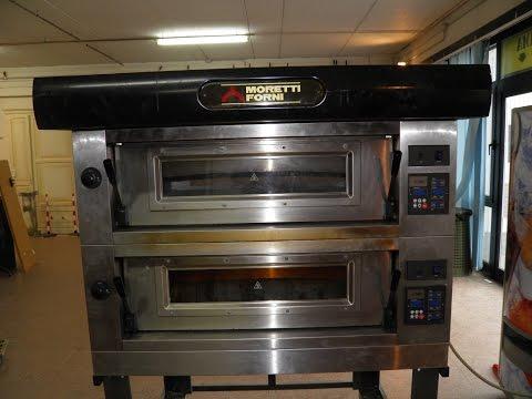 Asta forno professionale per pizza FORNI MORETTI anno 2010