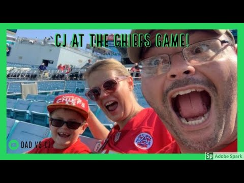 CJ goes to the Kansas City Chiefs NFL game at Jacksonville to see Patrick Mahomes and the Chiefs.