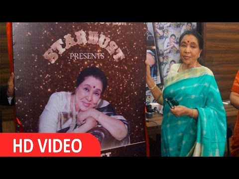 Singer Asha Bhosle At Cover Page Of Society Magzine