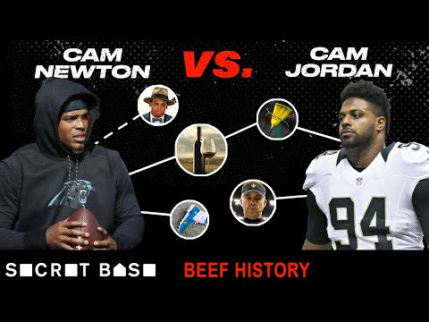 Video: Cam Newton's biggest troll is Cam Jordan, and their beef has been entertaining as hell