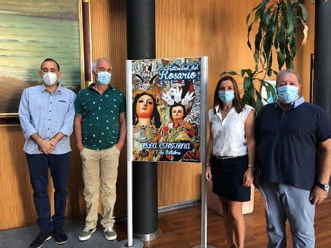 Presentación Cartel y Revista Digital Fiestas en Honor a la Virgen del Rosario Isla Cristina 2020.