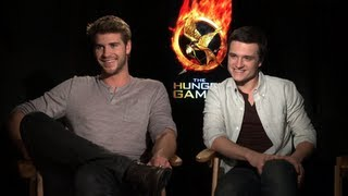 "Josh Hutcherson and Liam Hemsworth on the ""Unpredictable"" Jennifer Lawrence and Hunger Games Prep"