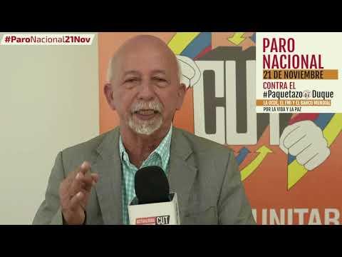 Libardo Ballesteros invita al #ParoNacional21N
