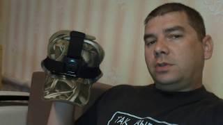 Своё решение крепления камеры на кепку...