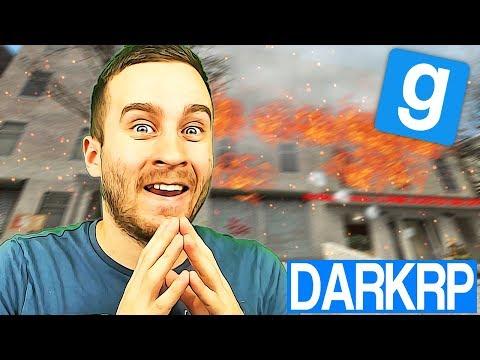 L'ENFANT PYROMANE !! - Garry's Mod DarkRP (видео)