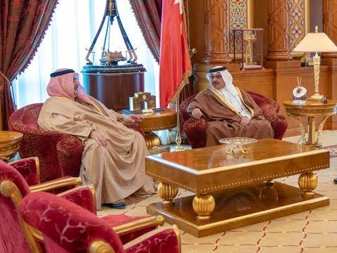 نائب جلالة الملك ولي العهد يستقبل معالي وزير الخارجية