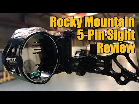Rocky Mountain 5-Pin Direct Mount Sight Review (видео)