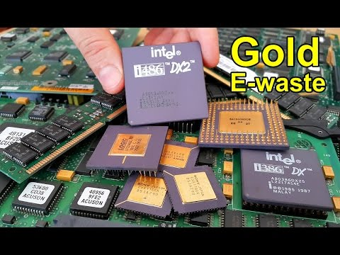 Total Recovery of Gold Contained in Computer