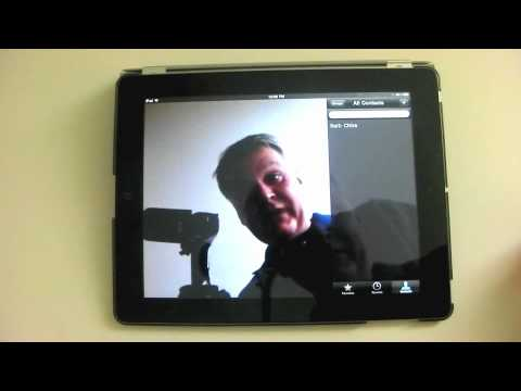 Using FaceTime – An iPad Mini Tutorial