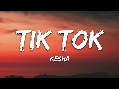 Kesha - TiK ToK (Lyrics)