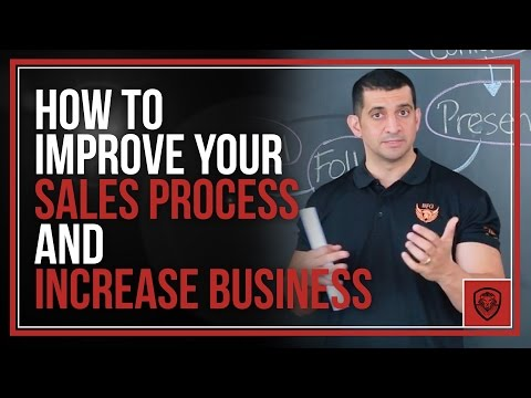 How to Improve Your Sales Process and Increase Business