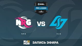 NRG vs CLG - ESL Pro League S6 NA - de_mirage [MintGod]