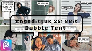 #ngedityuk 25: 8 Bit Bubble Text---------------------------------------------------------------------------------------------Link : http://gestyy.com/qJD9t2---------------------------------------------------------------------------------------------Halo, Selamat menunaikan ibadah puasa Ramadhan ya buat yang menjalankanya. Untuk video kali ini, Tim Ngedit Yuk mau ngeshare tutorial yang GAMPANG BANGET ke kalian untuk menambah skill ngedit foto kalian di handphone. Meskipun gampang, tapi hasil editnya tetep keren dan lucu untuk koleksi foto kalian.Tutorial ini sudah banyak banget yang request di Instagram @ngedityuk dan di channel kita, tapi kita baru sempet membuatnya sekarang untuk kalian.Selamat menonton, dan semoga bermanfaat ya!Website/ Blog:http://www.ngedityuk.comInstagram: http://www.instagram.com/ngedityukFacebook: https://www.facebook.com/ngedityuk📷: awkarin, rachelvennya, aulion, nandaarsynt, anyageraldine