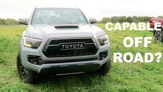 2017 Toyota Tacoma TRD Pro Review! by Vehicle Virgins