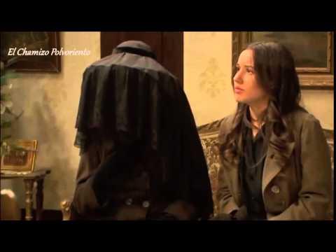 il segreto - jacinta entra al el jaral mascherata